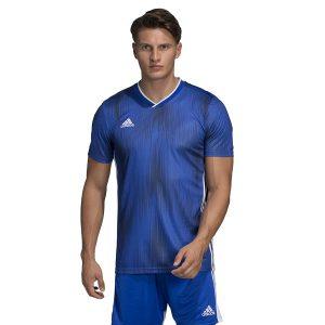 ביגוד אדידס לגברים Adidas TIRO 19 JSY - כחול/לבן