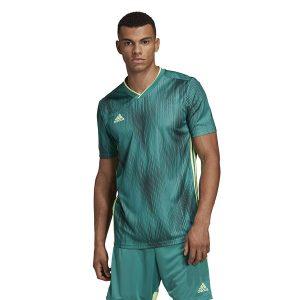 ביגוד אדידס לגברים Adidas TIRO 19 JSY - ירוק זית