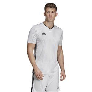ביגוד אדידס לגברים Adidas TIRO 19 JSY - לבן