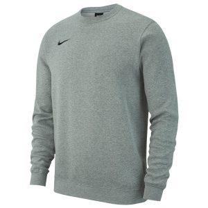 סווטשירט נייק לגברים Nike Crew FLC TM Club 19 - אפור בהיר