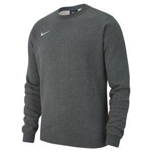 ביגוד נייק לגברים Nike Crew FLC TM Club 19 - אפור כהה