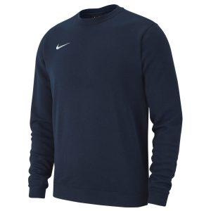 ביגוד נייק לגברים Nike Crew FLC TM Club 19 - כחול כהה