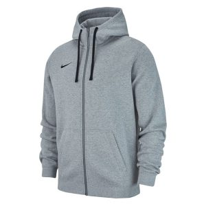ביגוד נייק לגברים Nike FZ FLC TM Club 19 - אפור בהיר