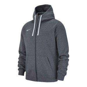 ביגוד נייק לגברים Nike FZ FLC TM Club 19 - אפור