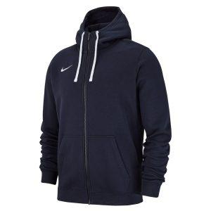 ביגוד נייק לגברים Nike FZ FLC TM Club 19 - כחול כהה