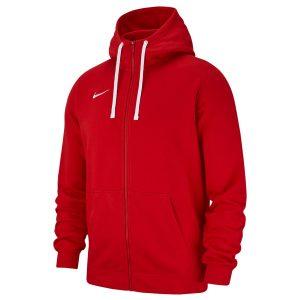 ביגוד נייק לגברים Nike FZ FLC TM Club 19 - אדום