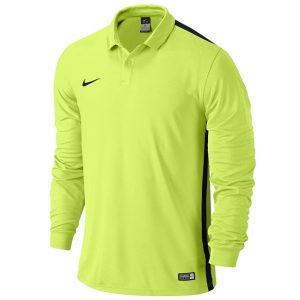 ביגוד נייק לגברים Nike LS Junior Challenge  - צהוב