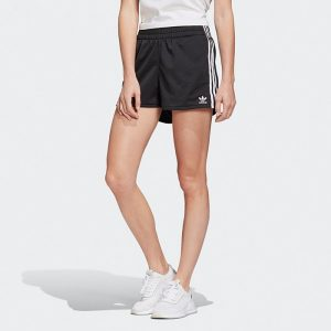 ביגוד Adidas Originals לנשים Adidas Originals 3-Stripes Short - שחור