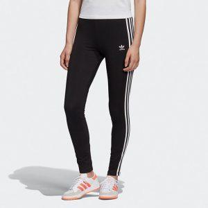 ביגוד Adidas Originals לנשים Adidas Originals 3-Stripes Tight - שחור