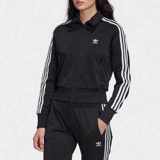 ביגוד Adidas Originals לנשים Adidas Originals Firebird TT - שחור