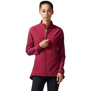 ביגוד אדידס לנשים Adidas SN STM JKT W - אדום