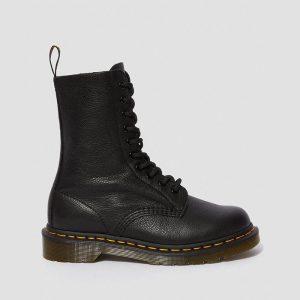 נעליים דר מרטינס  לנשים DR Martens 1490 Black Virginia - שחור