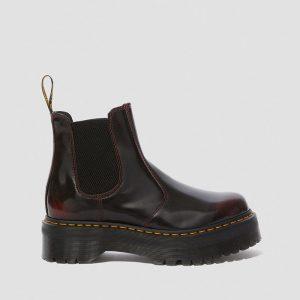 נעליים דר מרטינס  לנשים DR Martens 2976 Quad - בורדו