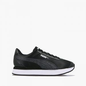 נעליים פומה לנשים PUMA Turino Stacked Glitter - שחור