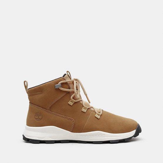 נעליים טימברלנד לנשים Timberland Brooklyn Alpine Chukka - חום/לבן
