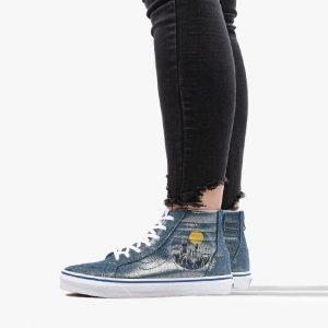 נעליים ואנס לנשים Vans x Harry Potter Sk8-Hi Zip - כחול