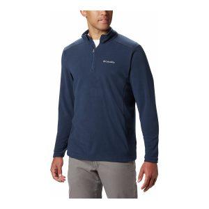 סווטשירט קולומביה לגברים Columbia Klamath Range II Half Zip - כחול