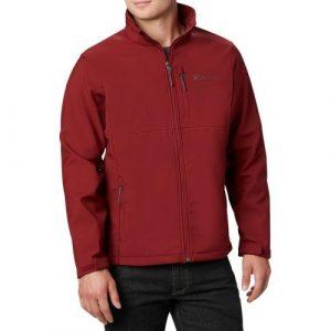ג'קט ומעיל קולומביה לגברים Columbia Ascender Softshell - אדום