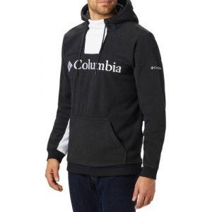 ביגוד קולומביה לגברים Columbia Lodge M Hoodie - שחור/לבן