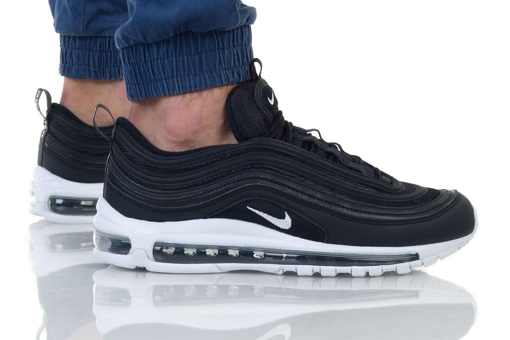 נעליים נייק לגברים Nike AIR MAX 97 - שחור/לבן