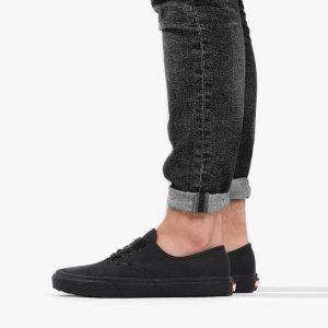 נעליים ואנס לגברים Vans Authentic - שחור פחם