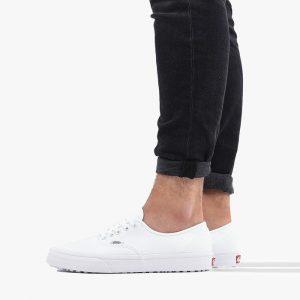 נעליים ואנס לגברים Vans Authentic - לבן הדפס