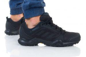 נעלי טיולים אדידס לגברים Adidas Terrex AX3 Goretex - שחור
