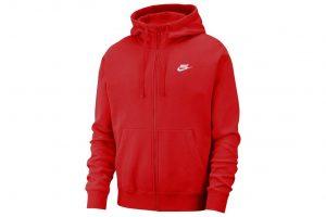 ביגוד נייק לגברים Nike NSW CLUB - אדום