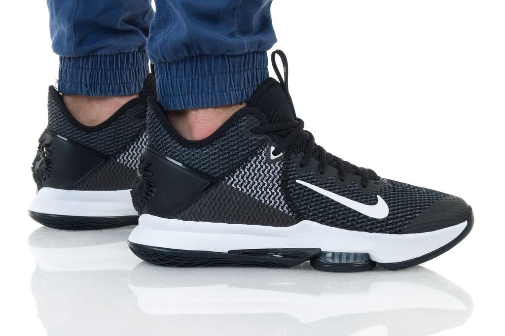 נעליים נייק לגברים Nike LEBRON WITNESS IV - שחור