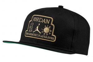 ביגוד נייק לגברים Nike JORDAN PRO CAP - שחור