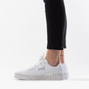 נעליים פומה לנשים PUMA Cali Patent Jr - לבן מלא
