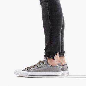 נעלי סניקרס קונברס לנשים Converse Chuck Taylor All Star - אפור כהה