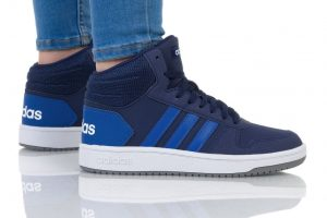 נעליים אדידס לנשים Adidas HOOPS MID 2 - כחול