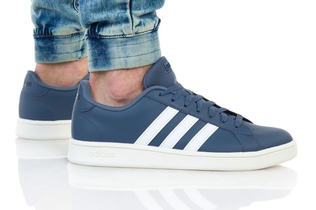 נעליים אדידס לגברים Adidas Grand Court - כחול