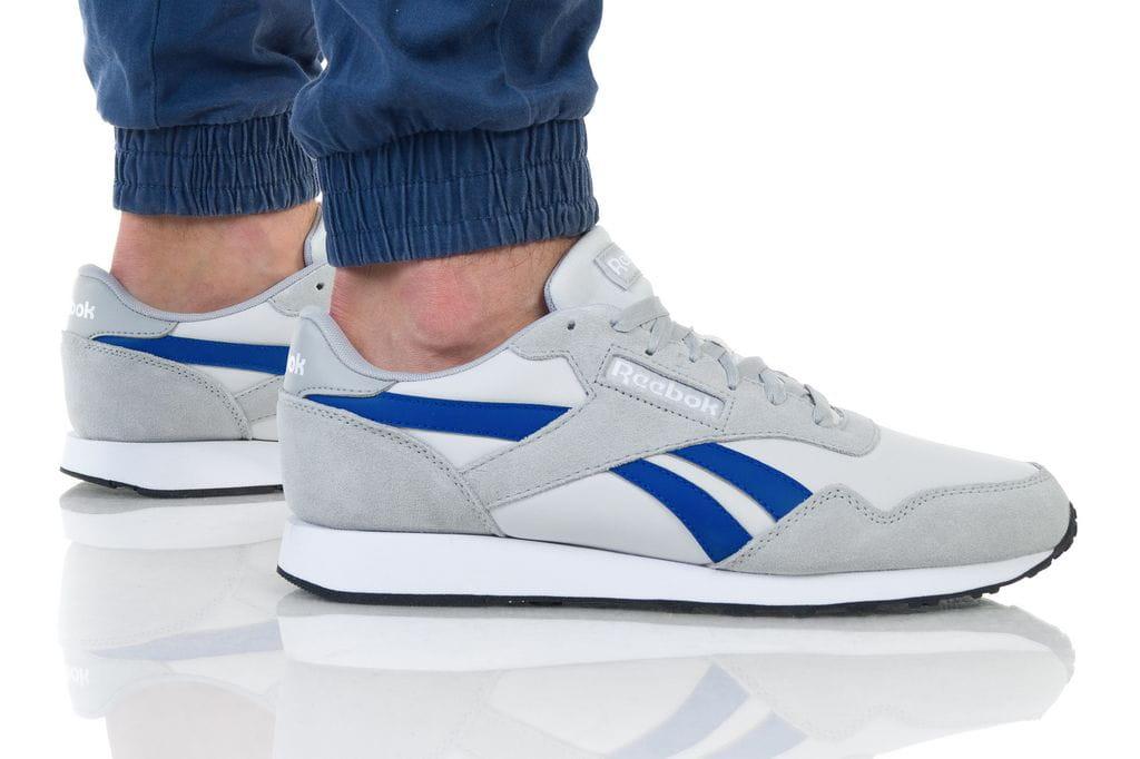 נעליים ריבוק לגברים Reebok ROYAL ULTRA - אפור/כחול
