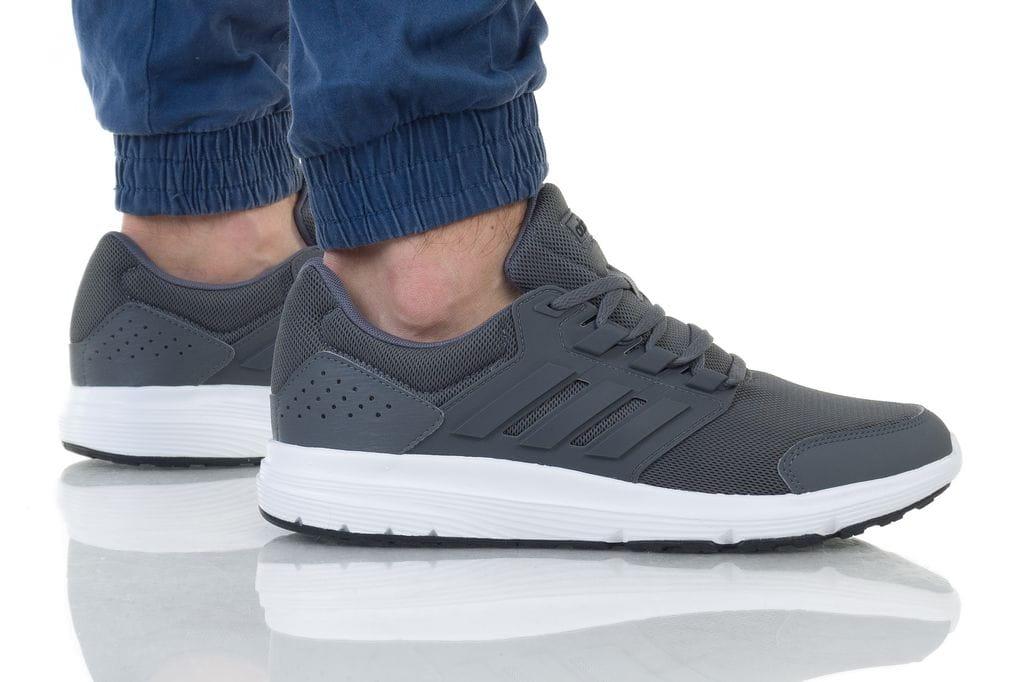 נעליים אדידס לגברים Adidas GALAXY 4 - אפור