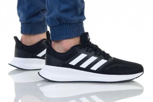 נעליים אדידס לגברים Adidas RUNFALCON - שחור/לבן