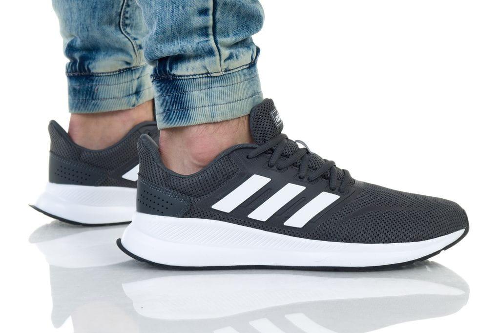 נעלי ריצה אדידס לנשים Adidas RUNFALCON - לבן/שחור