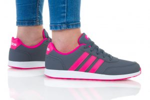 נעליים אדידס לנשים Adidas VS SWITCH 2 K - אפור/ורוד