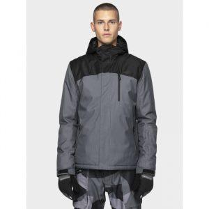 ג'קט ומעיל פור אף לגברים 4F Hooded - כחול