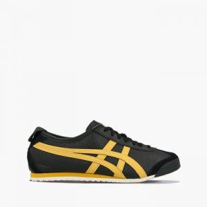 נעלי סניקרס אסיקס טייגר לגברים Asics Tiger Onitsuka Tiger Mexico 66 - שחור/צהוב