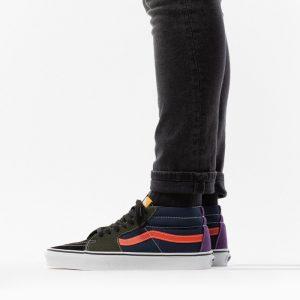 נעליים ואנס לגברים Vans Sk8-Mid - צבעוני כהה