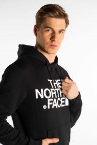 סווטשירט דה נורת פיס לגברים The North Face STANDARD HOODIE - שחור