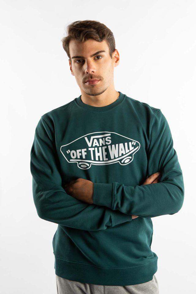 ביגוד ואנס לגברים Vans OTW CREW II TTZ - ירוק