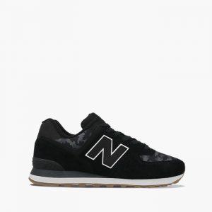 נעלי סניקרס ניו באלאנס לגברים New Balance ML574 - שחור פחם