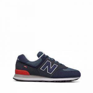 נעליים ניו באלאנס לגברים New Balance ML574 - כחול/אדום
