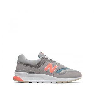 נעלי סניקרס ניו באלאנס לנשים New Balance CW997 - אפור/כתום