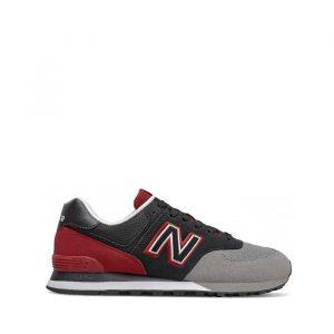 נעליים ניו באלאנס לגברים New Balance ML574 - צבעוני כהה