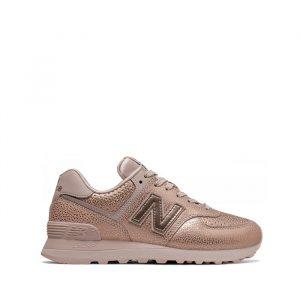 נעלי סניקרס ניו באלאנס לנשים New Balance WL574 - ורוד