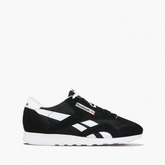 נעליים ריבוק לגברים Reebok classic nylon - לבן/שחור